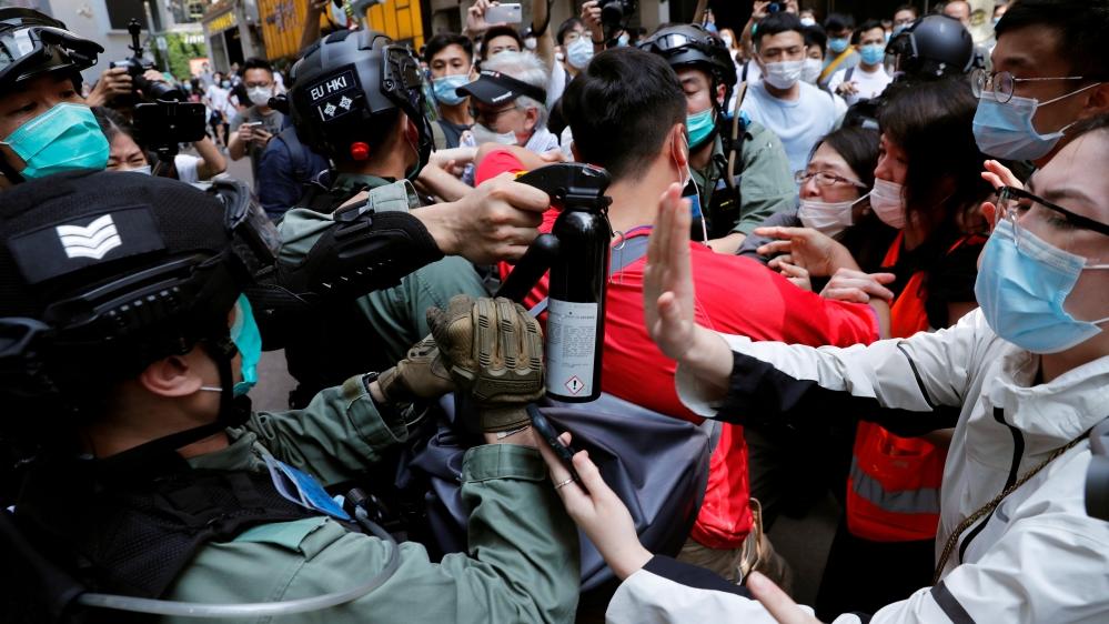 China rebukes Canada over criticism of Hong Kong security law – Al Jazeera English