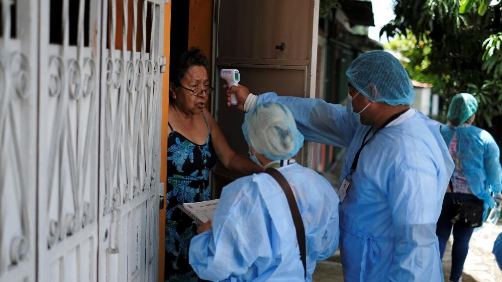 Outbreak of the coronavirus disease (COVID-19) in El Salvador