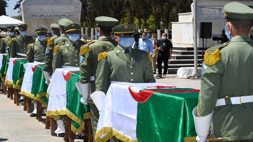 Algeria buries remains of anti-colonial fighters after 150 years thumbnail