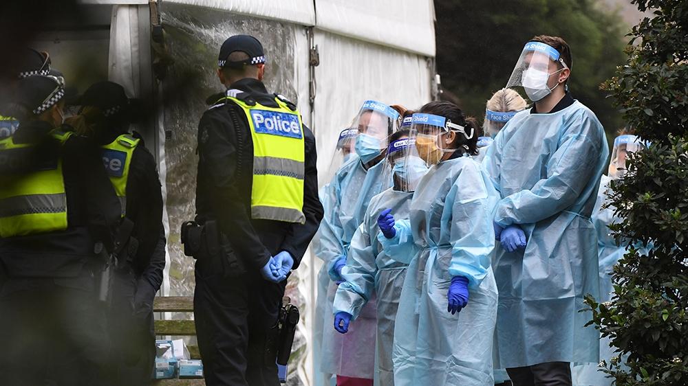 Melbourne placed on 6-week coronavirus lockdown: Live updates – Al Jazeera English