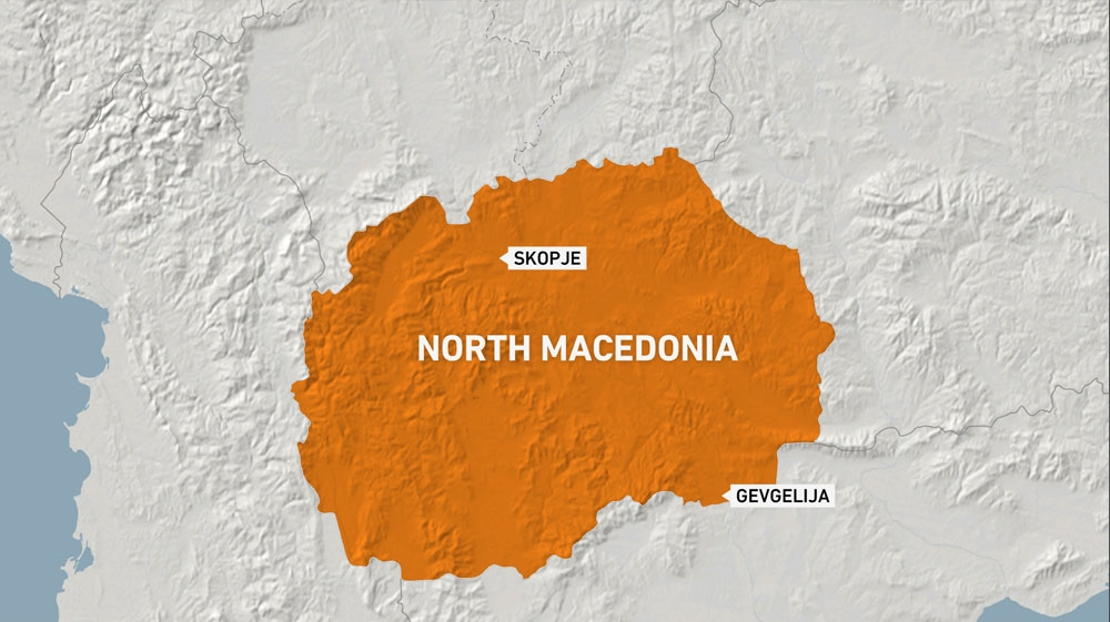 Police discover 211 migrants crammed in truck in North Macedonia thumbnail