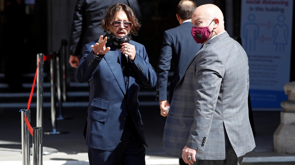 Actor Johnny Depp's libel trial against The Sun opens in London
