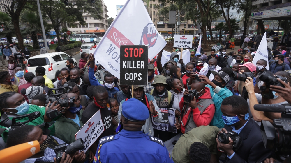 Kenyans face police teargas, arrest amid protests