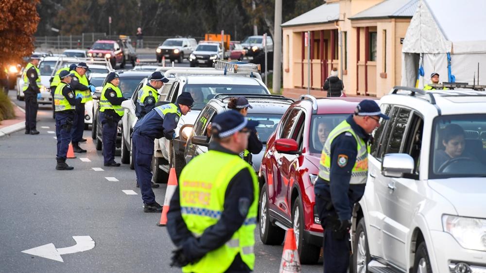 Australia NSW VIctoria border