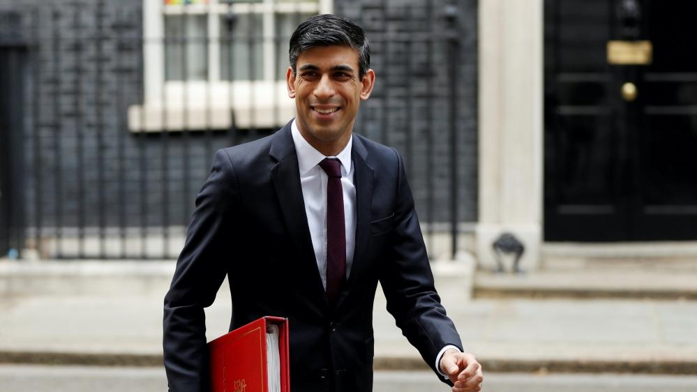UK Chancellor of the Exchequer Rishi Sunak