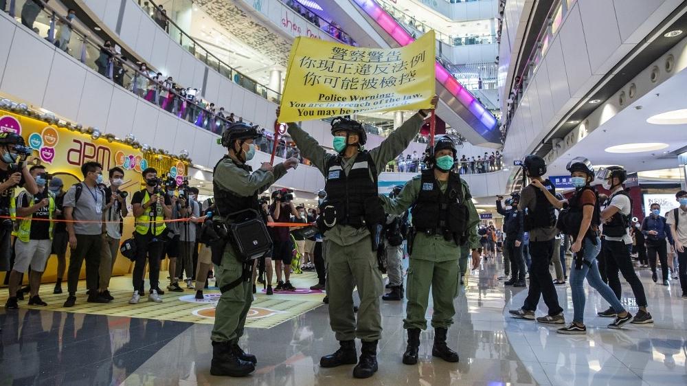 TOPSHOTS - HONG KONG - CHINA - POLÍTICA - DESCANSO