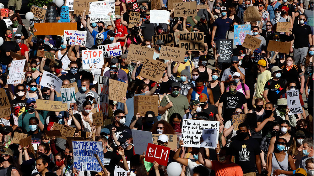 Black lives matter protest Pittsburgh