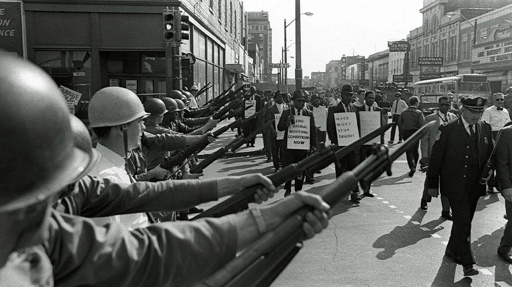 Memphis sanitation strike 1968