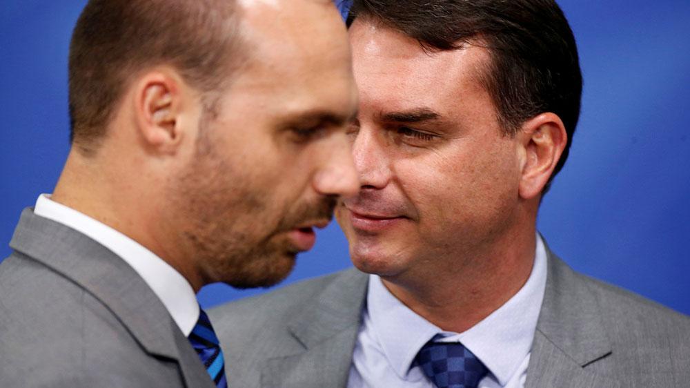 Bolsonaro and son