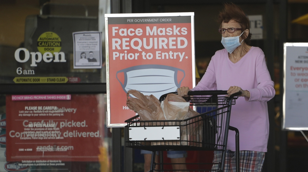 Florida Set a One-Week Record of almost  500 Confirmed Coronavirus Deaths