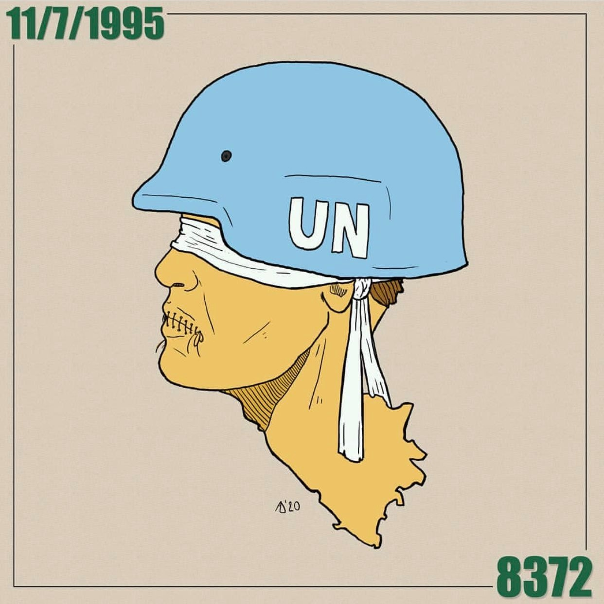 UN Srebrenica. Admir Delic/Al Jazeera