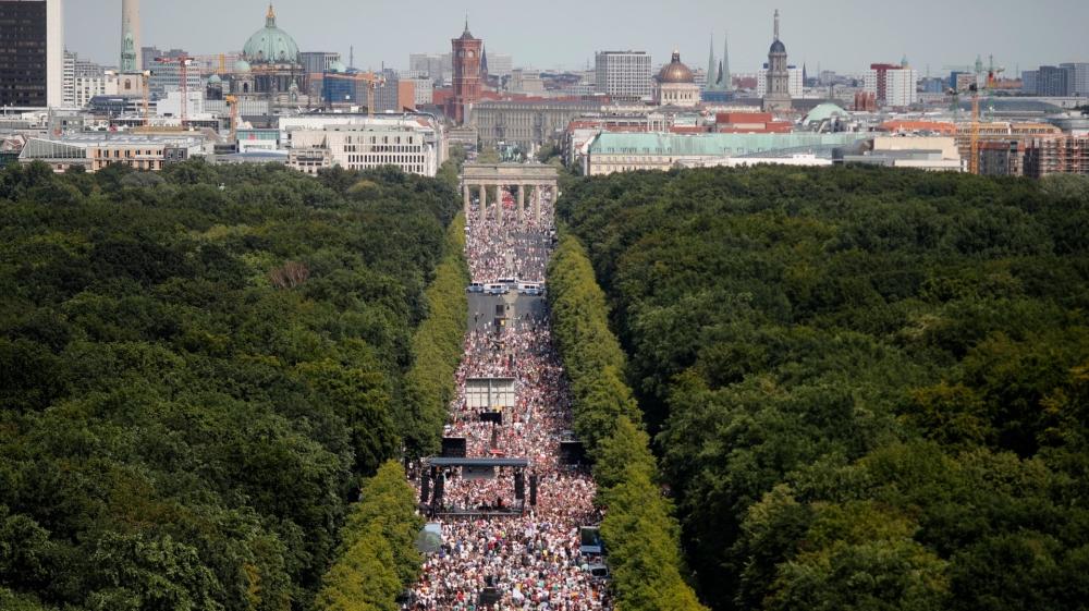 Protesta de Berlín