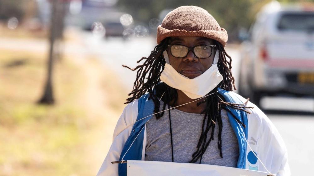 Zimbabwean novelist Tsitsi Dangarembga arrested