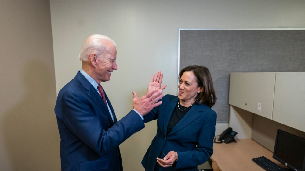 Democrat Joe Biden Picks Kamala Harris As Running Mate Usa News Al Jazeera
