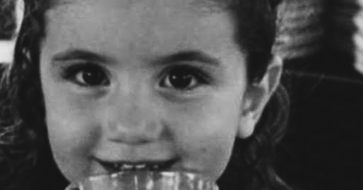 Alexandra Najjar, 3 years old.