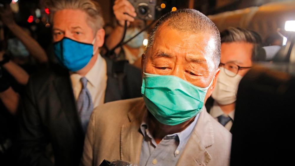Hong Kong media tycoon Lai activist Agnes Chow released on bail – Al Jazeera English
