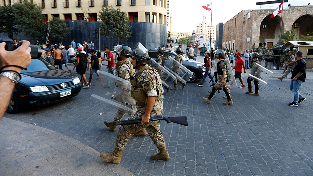 Lebanon parliament approves sweeping powers for the army - aljazeera