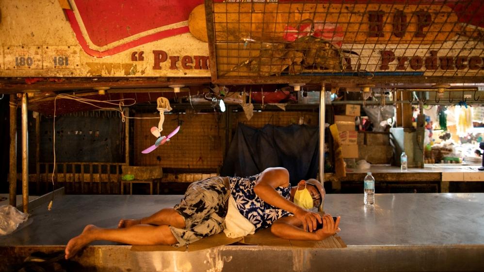 Coronavirus outbreak in Manila