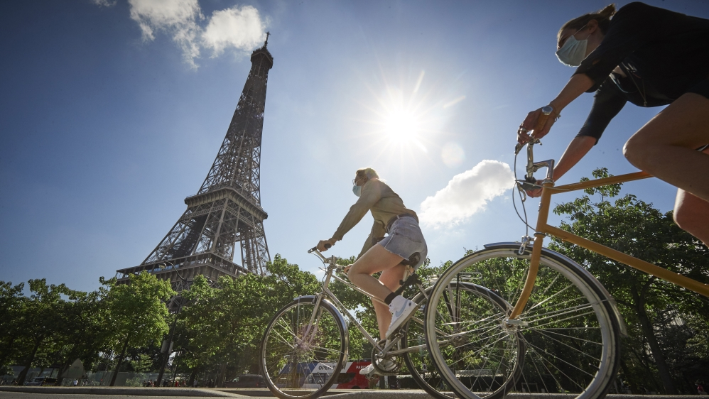 Paris Bicycle Culture As Corona Powers Commuters To Pedal