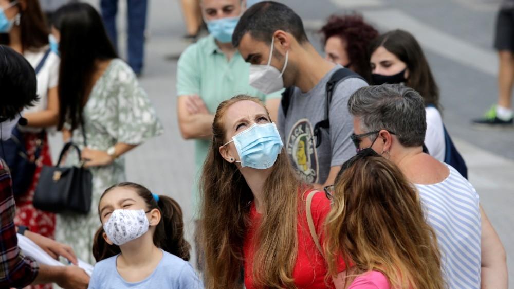 Spain calls in troops to combat coronavirus resurgence: Live thumbnail