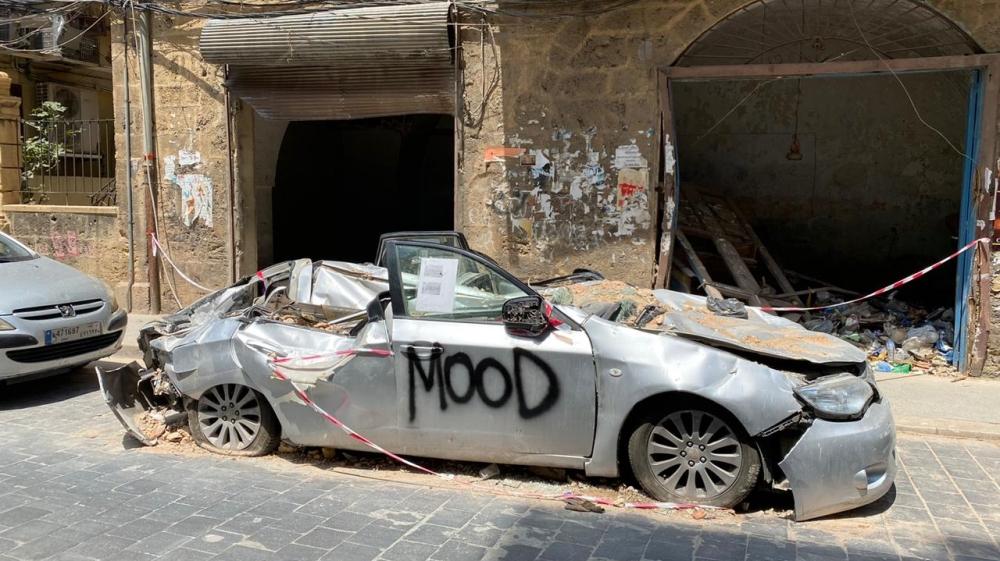 Beirut car mood [Timour Azhari/Al Jazeera]