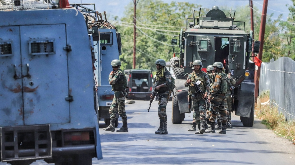 Security forces launched Search operation after militants attacked CRPF party and Killed 2 CRPF Jawans and 1 JKP Cop in Kreeri Baramulla, Jammu and Kashmir, India on 17 August 2020. Later 2 Militants