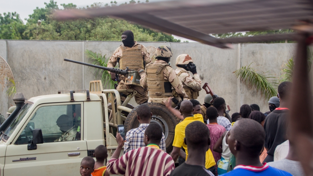 Alleged coup attempt in Mali