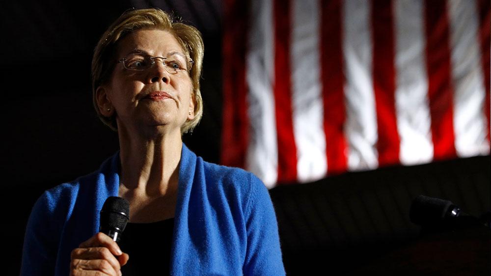 Elizabeth Warren primary rally