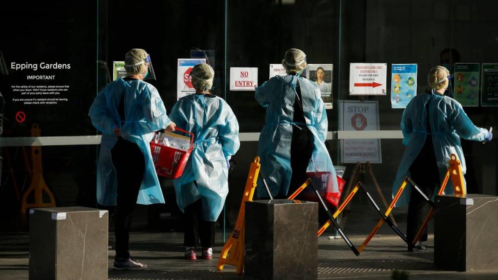 Australia's Victoria declares state of disaster over coronavirus thumbnail