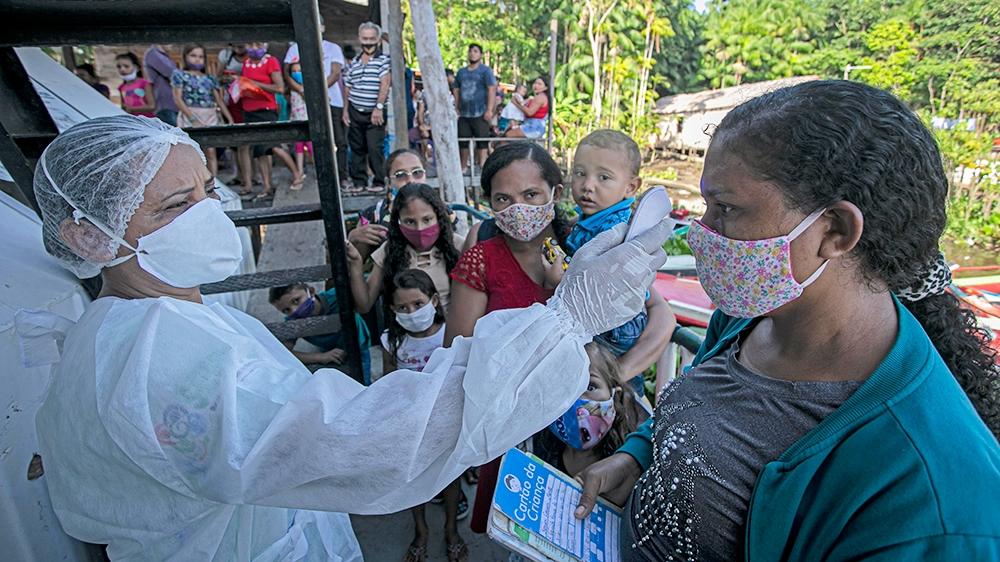 Latin America coronavirus death toll hits 200,000: Live updates thumbnail