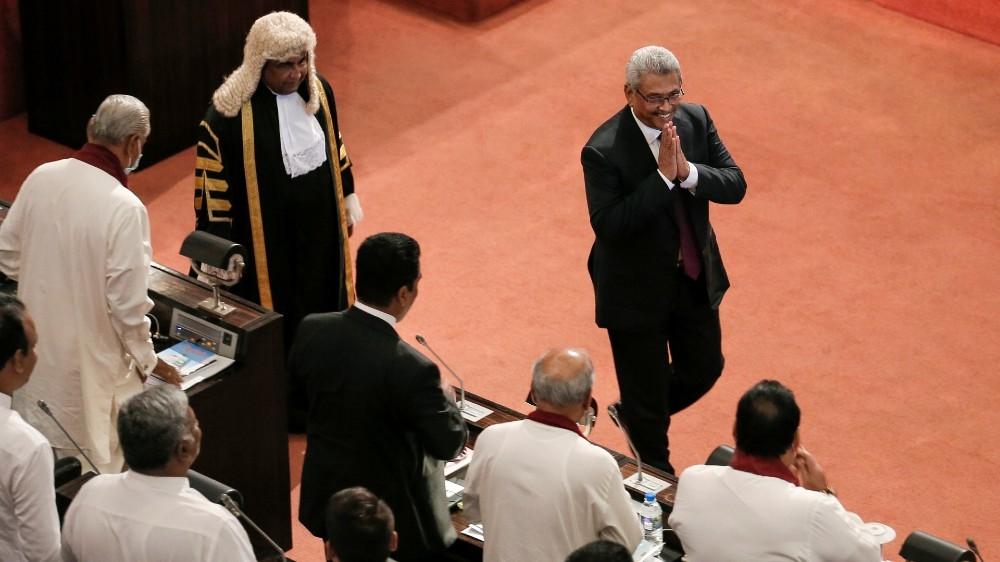 Sri Lanka's President Rajapaksa to scrap reforms limiting powers – Al Jazeera English