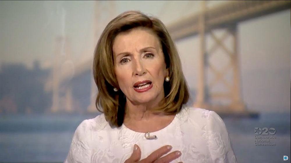 Nancy Pelosi at Dem convention