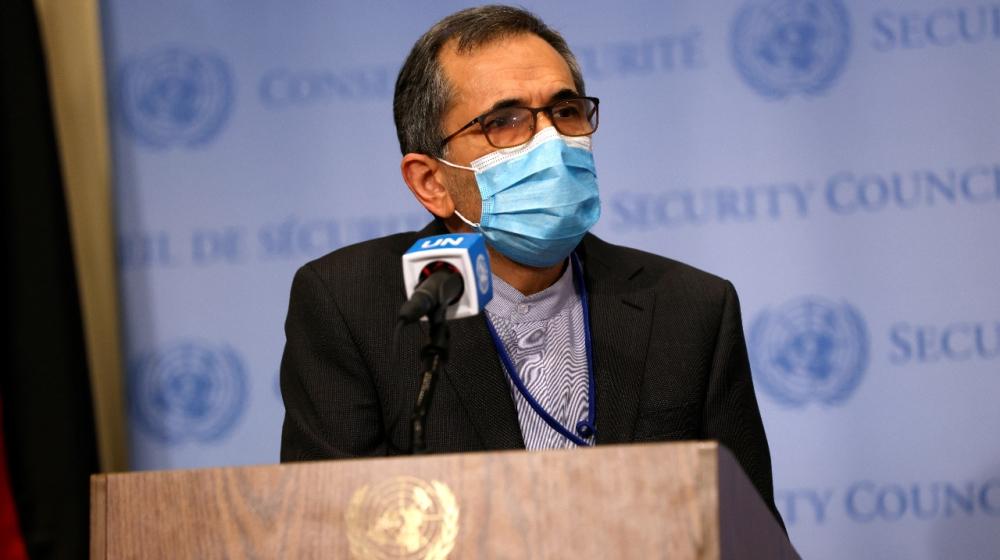 Iran UN Ambassador Majid Takht Ravanc