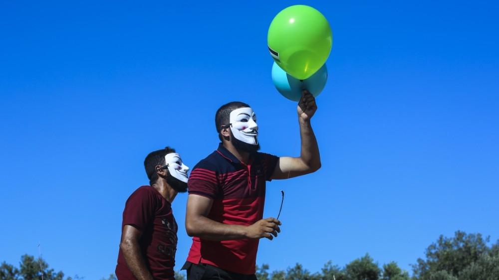 Gaza's incendiary balloons