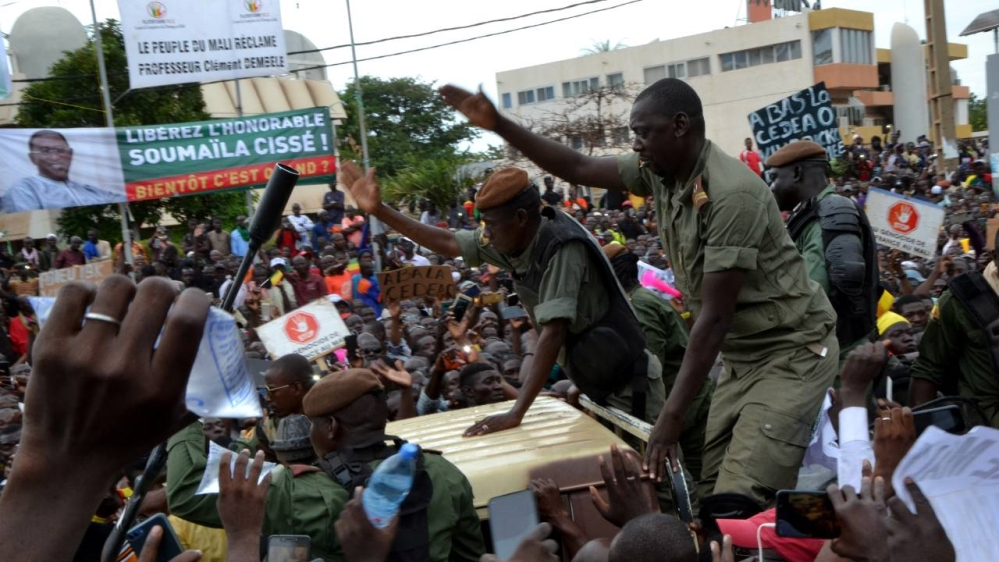 Mali - coup leaders