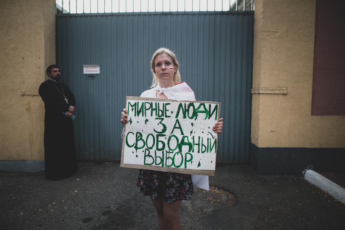 Belarus investigators question Nobel laureate amid protest crackdown