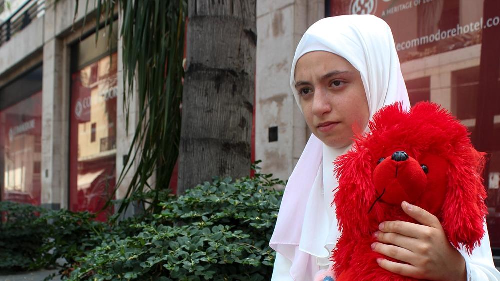 Syrian refugee story - Dima [Arwa Ibrahim/Al Jazeera]