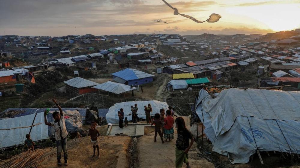 Rohingya refugee camp