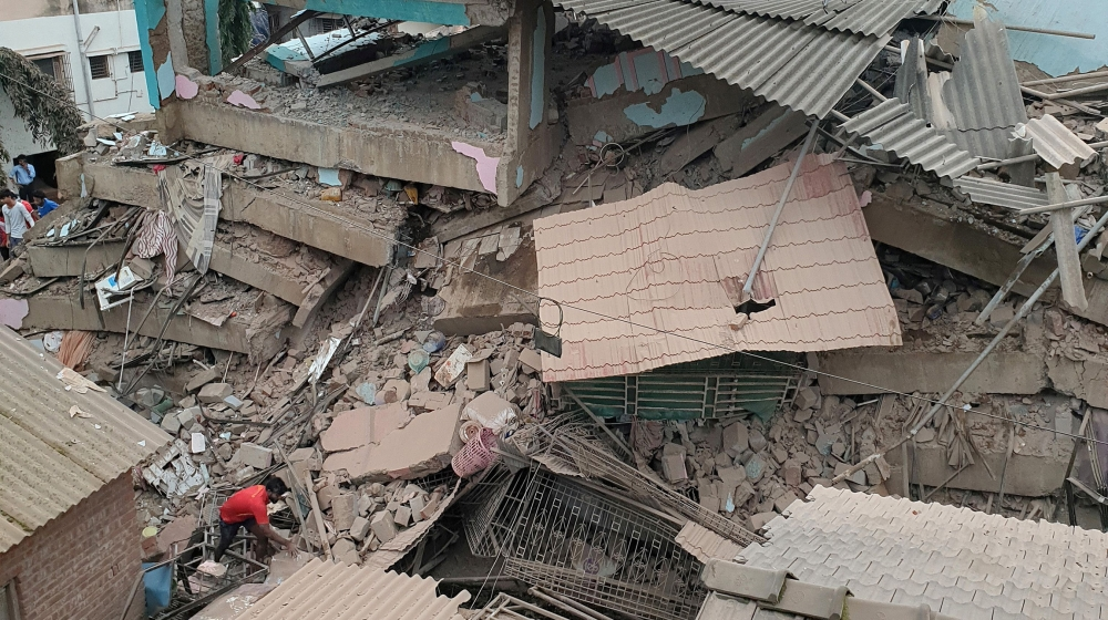 One killed, 51 missing after multi-storey building in Maharashtra's Raigad collapses