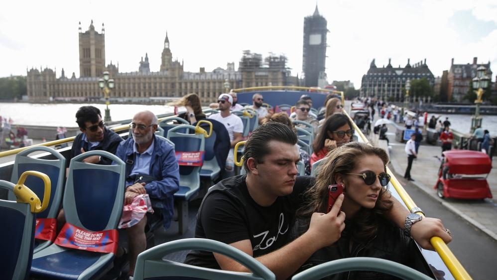 London Tourism Hit Hard Amid Coronavirus Pandemic