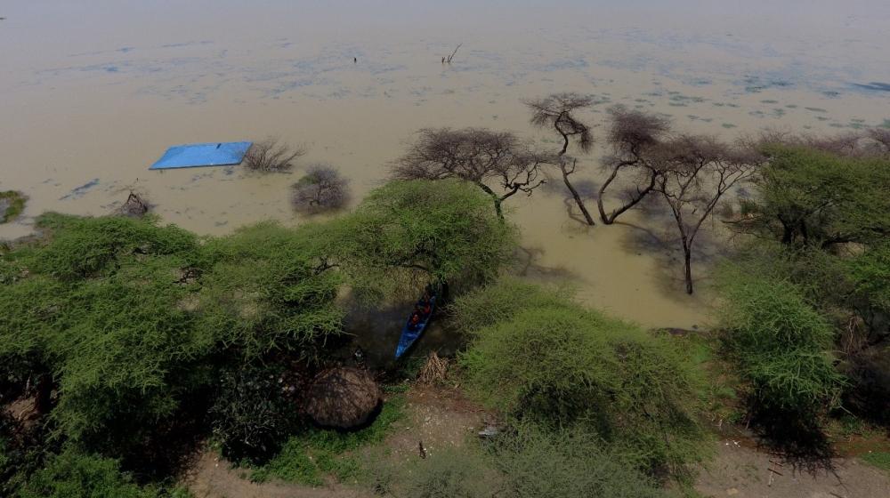 aerial pics of Lake Baringo