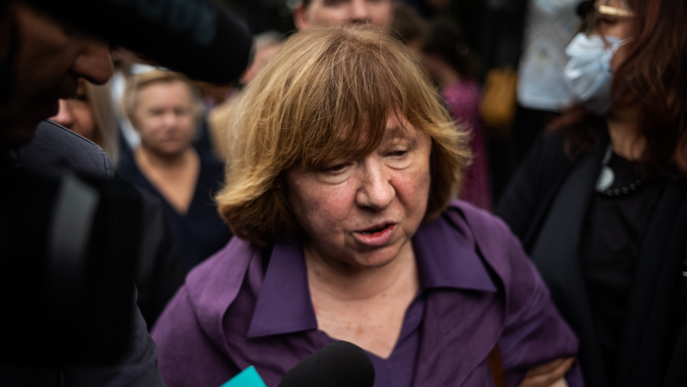 Belarus: Svetlana Alexievich Questioned Over Opposition Council