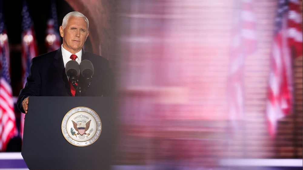 Discurso de la convención de Mike Pence