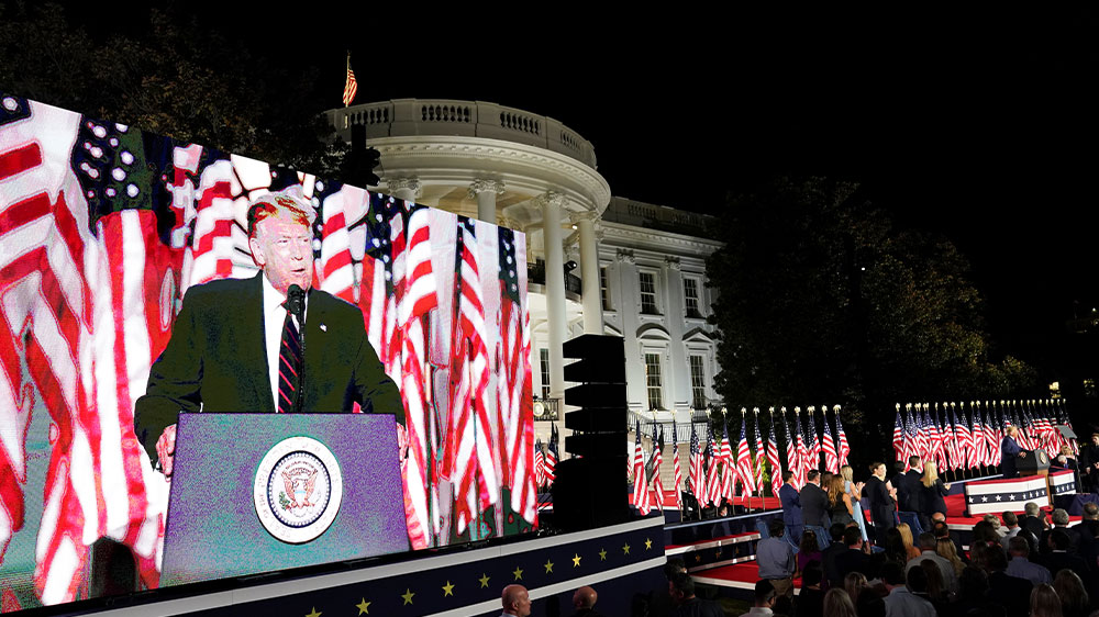 Discurso de Donald Trump RNC en WH