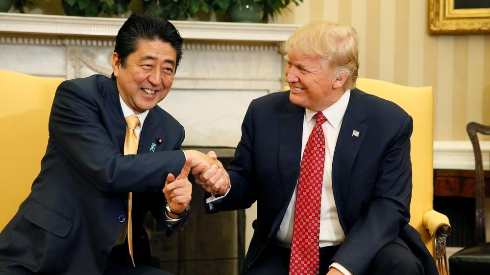 Japan Abe Trump