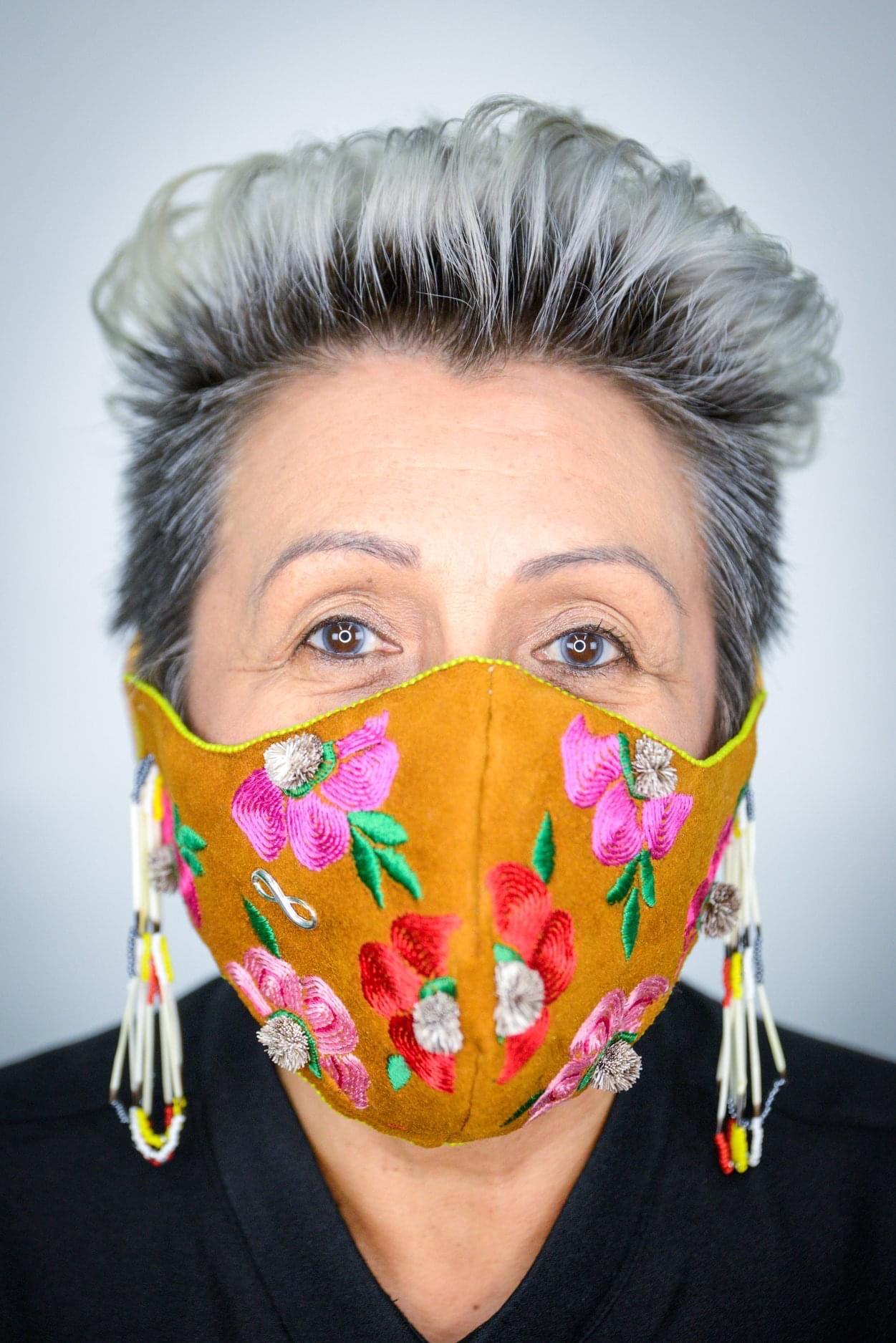 Indigenous face masks - Brandi Morin