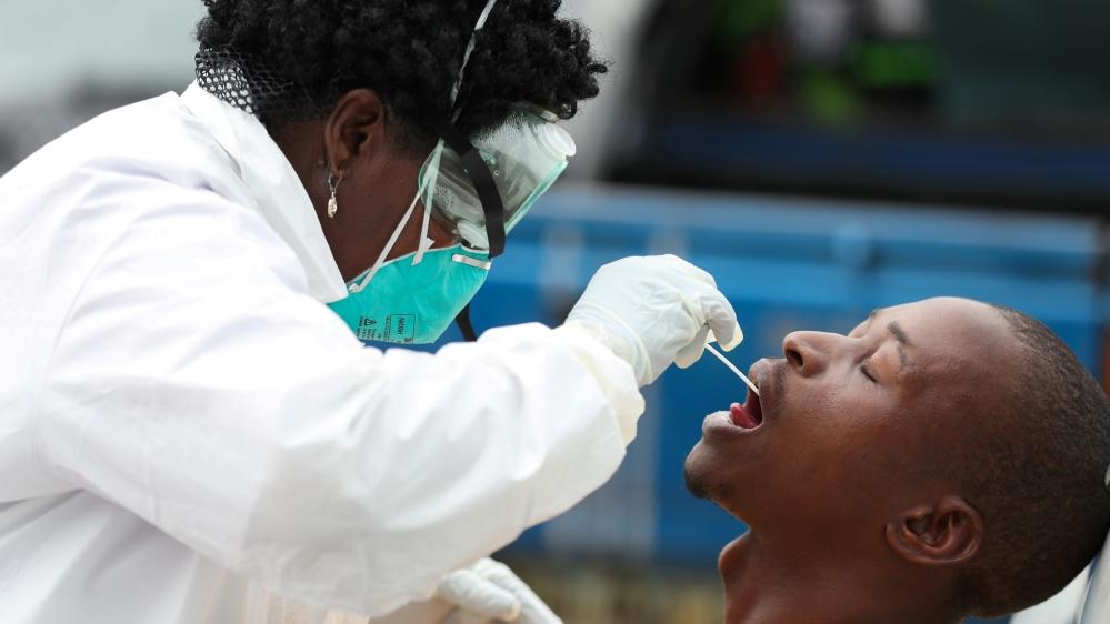 South Africa coronavirus
