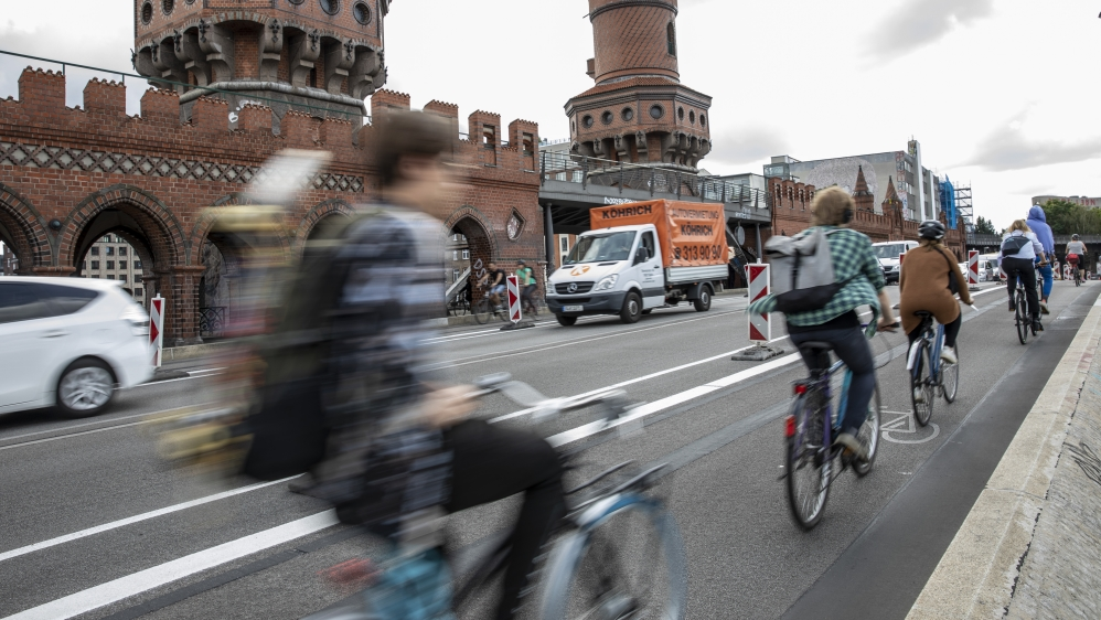 Berlin's Pedal Power As Coronavirus Boosts Bicycle Culture