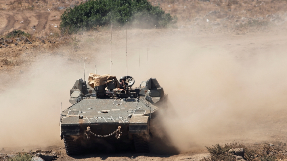Israel army says it attacked military posts in southwest Syria thumbnail