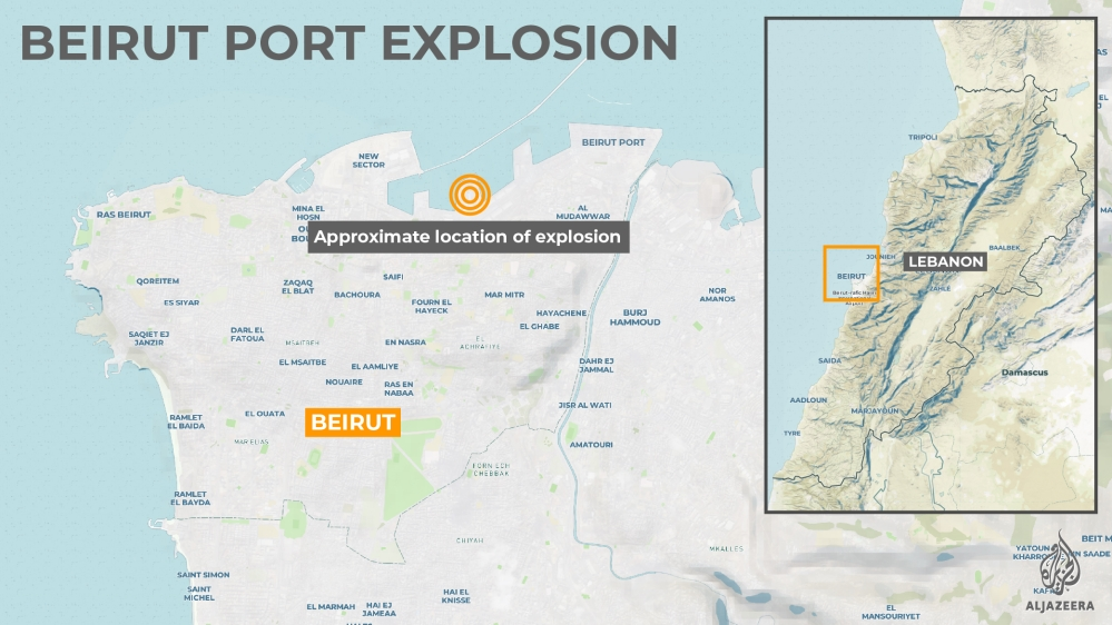 INTERACTIVE: Beirut explosion map
